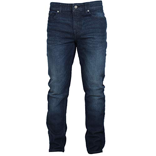BOSS Hugo Jeans Delaware Herren Dunkelblau Enganliegend Denim - Blau, 34w/32l