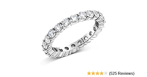 Gold Plated Sterling Silver Ladies Diamond Wedding Band 1//8 inch wide