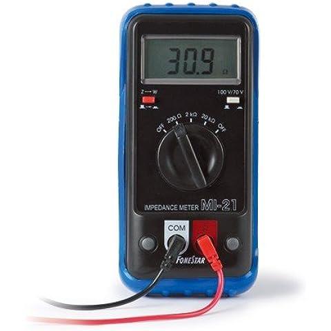Medidor de impedancia MI-21