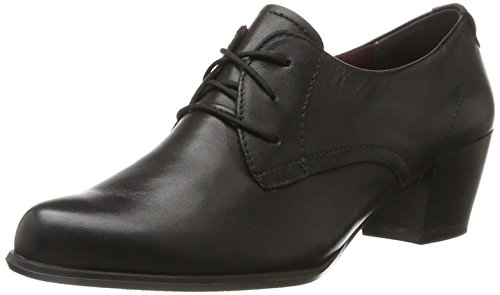 Tamaris Damen 23305 Oxfords Schwarz (Black) 39 EU