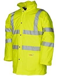 Yellow Sioen SIOEN132YL Brighton Siopor Hi-Vis Jacket Size Large
