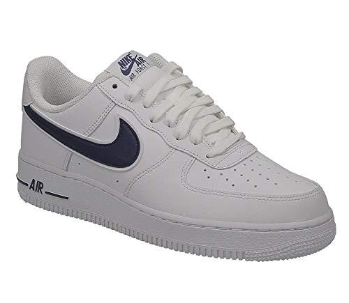 Nike Air Force 1 '07 Ao2423-103, Scarpe da Ginnastica Basse Uomo, Bianco (White Ao2423/103), 42.5 EU