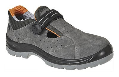 Safety shoes with Velcro fastening - Safety Shoes Today