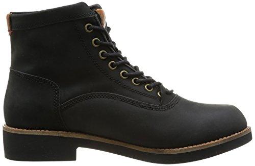 Levi's Lawndale Worker Lace, Boots homme Noir (Regular Black 59)