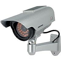 SEDEA Caméra de surveillance tube factice avec capteur solaire