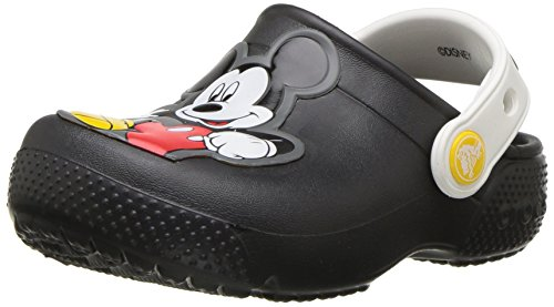 crocs Fun Lab Mickey Clog Kids, Jungen Clogs, Schwarz (Black), 29-30 EU Crocs Kids Disney
