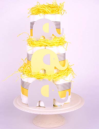 Elefante Bebé Ducha–tarta pañales–Unisex