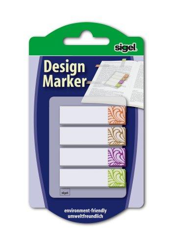 sigel-hn506-haftmarker-design-terra-4-farben-80-streifen-im-format-12-x-45-mm