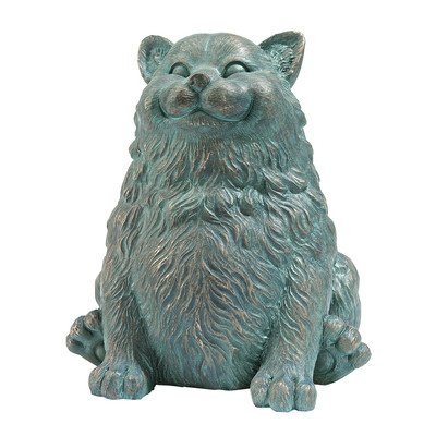 Design Toscano Fette Katze, Statue