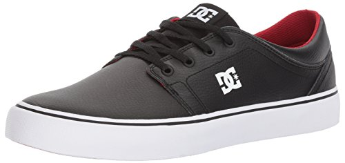 DC Men's Trase, Black/Red/White, 8.5 D US