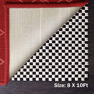 Yome Rug Pad Gripper Anti-Rutsch-Pad für Harte Böden, 2,4 x 3 m (8x10 Anti-rutsch-teppich-pad)