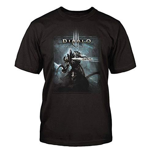 Mens Diablo Iii Slice Premium Cotton T Shirt - 3 Diablo T-shirt