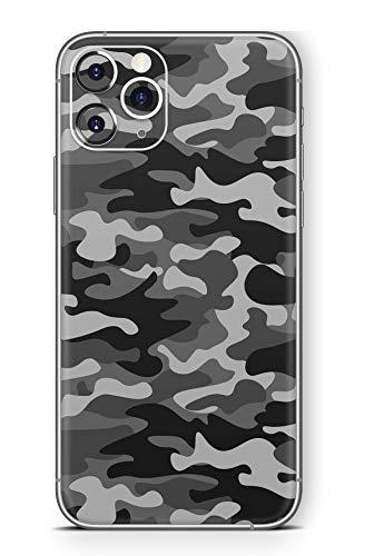 Skins4u Ultra Slim Schutzfolie für iPhone 11 Pro Skins Matte Oberfläche Aufkleber Skin Klebefolie Kratzfest Case Cover Folie Urban Camo Old