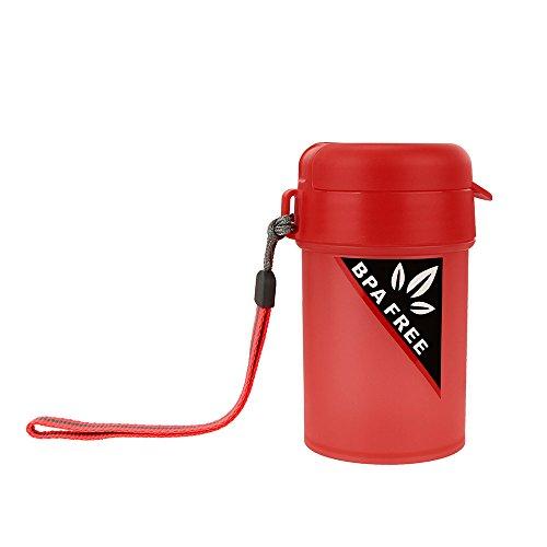 FBGood Botella de Agua portátil Deportes, Reutilizable, para Estudiantes, para Viajes, al Aire Libre, Campamento, Bebidas, Oficina, Escuela, Tetera de 250 ml