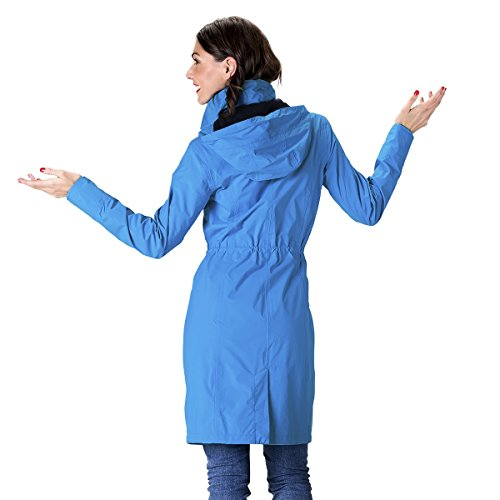 HappyRainyDays - Femme | Manteau imperméable avec capuche Bleu