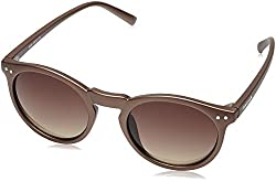 Fastrack Gradient Square Mens Sunglasses - (P383BR7 49 Brown Color)