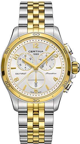 Certina DS First C030.217.22.037.00 Chronographe pour femmes très sportif