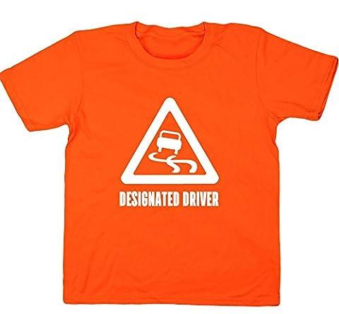 HippoWarehouse Designated Driver kids children's short sleeve t-shirt