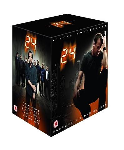 24 : Seasons 1-5 Box Set