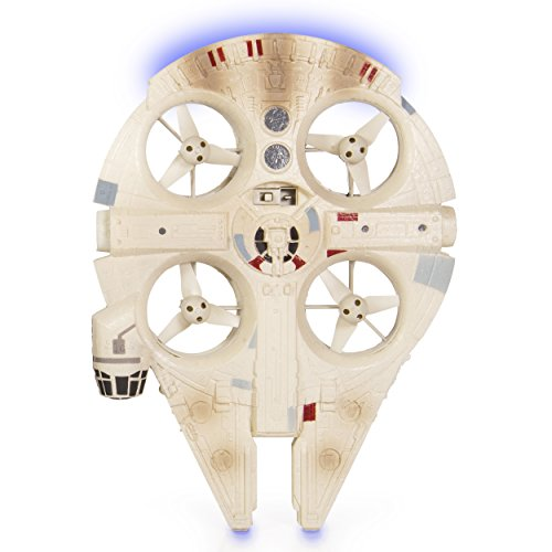 Air Hogs Star Wars: Episode VII The Force Awakens Remote Control Ultimate Millennium Falcon Quad