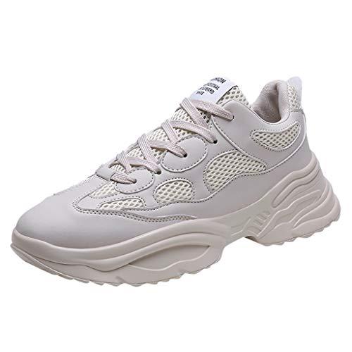 RYTEJFES Unisex Turnschuhe Laufschuhe Herren Atmungsaktiv Leichtgewicht Freizeitschuhe Mode Sneaker Touristische Schuhe Klassiker Joggingschuhe - Größe Baby Mädchen 3 Schuhe High-tops