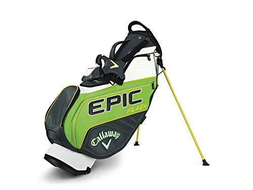 Callaway Golf 2019 Epic Flash Staff Standtasche, Staff Bag, Green/Charcoal/White