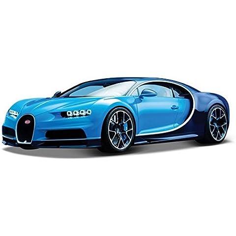 Bugatti Chiron 1:18 Escala Modelo Fundido By Bburago