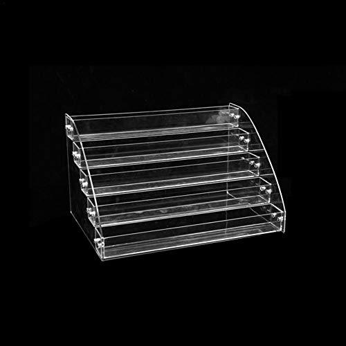 Nagellack Display Rack Ständer Makeup Organizer Multifunktionale mehrschichtige 7 Ebenen Acryl Nagellack Kosmetik Lack Lagerung Display Halter für Nagellack Ohrringe Halsketten Ringe