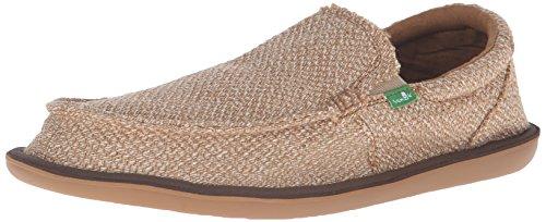 Sanuk Mens Chibalicious Slip-On Loafer Natural Hemp