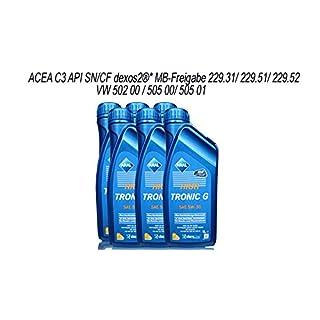 ARAL High Tronic G 5W-30 6X 1 Liter Motoröl ACEA C3 API SM/CF MB-Freigabe 229.31/229.51 Dexos 2
