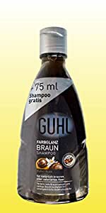 Guhl farbglanz marron - 75 ml et shampoing 200 ml