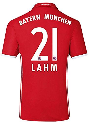 Trikot Adidas FC Bayern München 2016-2017 Home (Lahm 21, L)