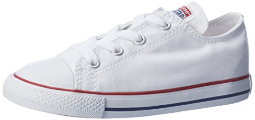Converse Chuck Taylor All Star, Unisex-Kinder Sneakers, Weiß (Optical White), 34 EU (Sneakers Weiße Converse)