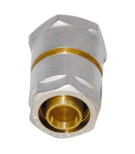 WIROFLEX | Klemmring-Verschraubung inklusive Adapter | Komplettlösung | Schraubsystem | 16 mm x 3/4 IG | Für Mehrschichtverbundrohr