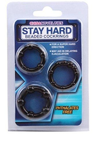 Preisvergleich Produktbild Omos Herren Triple Penis-Ring small Verzögerungsring Hahnring Penisverlängerunge Geschlechtsspielzeug für Männer