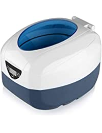 GT Sonic 750milliliter Ultrasonic Cleaner Jewellery Cleaner Machine with Adjustable Timer for Jewellery, Rings, Watches, Dentures, Glasses, Disk, Coins and More