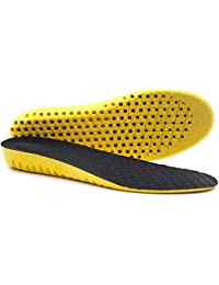 Royalkart Elastic, Shock Absorbing, Sports Shoe Insoles/Inserts, Soft Breathable Orthotic PU Foam Sports Shoe Insoles (Free Size)