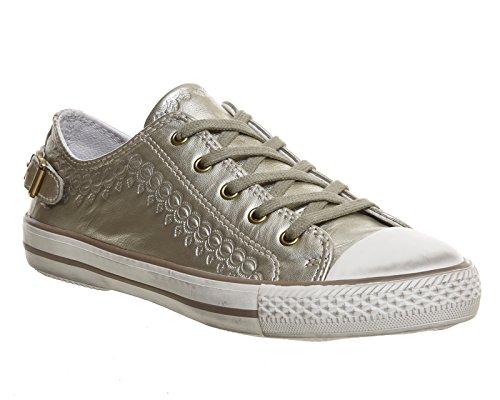 Ash Virgo Lo Sneaker Gold Iron - 6 UK