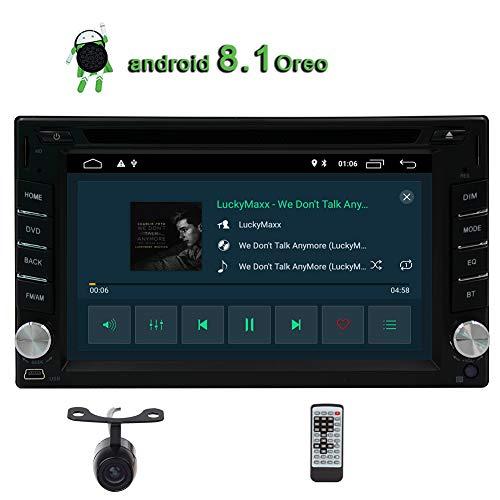 EinCar 7 Pouces Voiture système de Navigation GPS avec Bluetooth stéréo 1 Din Voiture Lecteur DVD FM/AM Radio Autoradio Universal Audio Vidéo Audio de l'USB/SD + 8 Go GPS Carte Carte + T