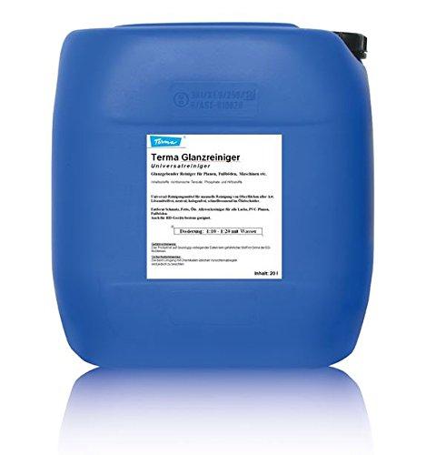 Terma Glanzreiniger für PKW- und LKW-Wäsche 10 Liter (Konzentrat 1:1 bis 1:10), Hochdruckreiniger für LKW und PKW, Planenreiniger