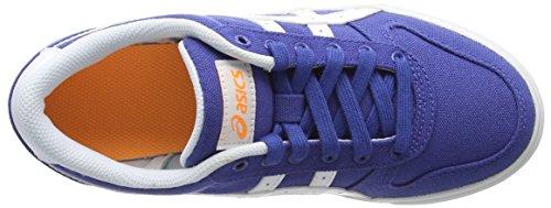 Asics - Aaron Gs, Scarpe da ginnastica Blu (Monaco Blue/White 4901)