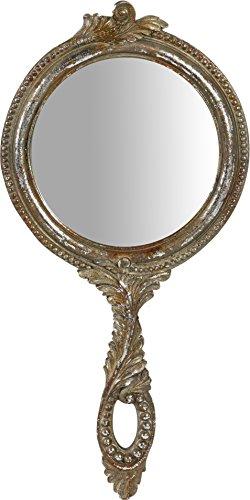 Biscottini Miroir Suspendu avec Finition Argent Antique L19xPR2xH39 cm