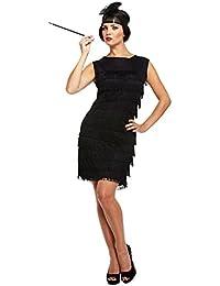 femme sexy noir 1920s franges fille flapper charleston costume dguisement std grande taille - Robe Charleston Mariage