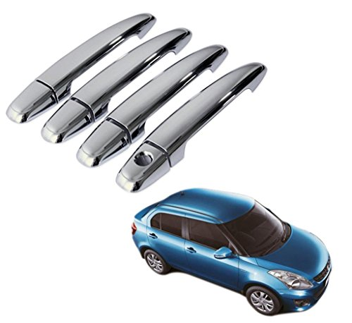 Delhi Traderss - Chrome Door Handle Latch Cover - Maruti Suzuki Swift New Dzire  available at amazon for Rs.499