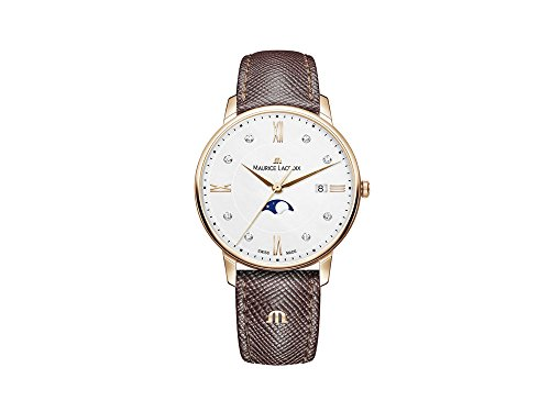 Maurice Lacroix Eliros Moonphase Ladies Quartz Watch, PVD rose gold