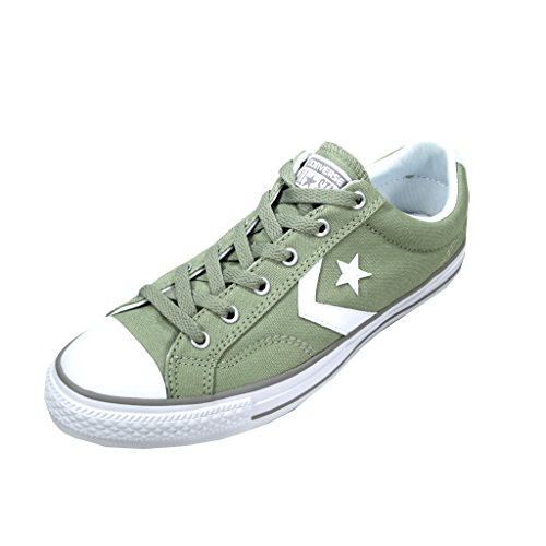 Basket, couleur Vert , marque CONVERSE, modèle Basket CONVERSE CHUCK TAYLOR STAR PLAYER OX Vert Sage/White/Dolphin