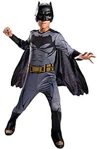 Batman - Disfraz Justice League infantil, 5-7 años (Rubie