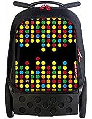 Nikidom Roller XL Technodots, Mochila Escolar con Carro