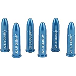 A-ZOOM Z12208 Lot de 6 Cartouches de Manipulation 22 Long Rifle