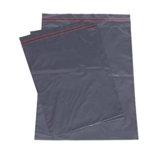 10x 230mm x 310mm (9x 12) Grey Poly Mailing Bags by accenter